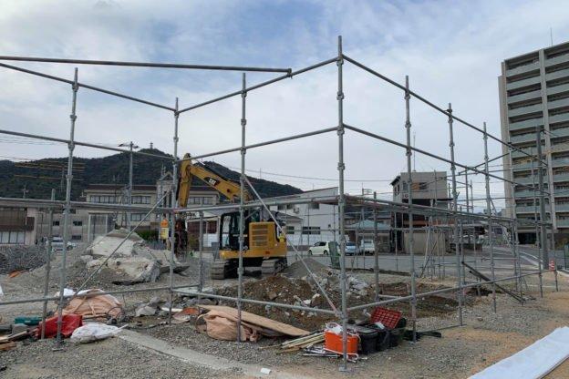 山口県萩市で解体工事は宇畑工業